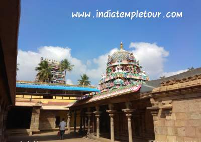 Patteeswaram temple inside