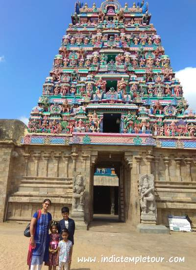 Patteeswaram temple Entrance