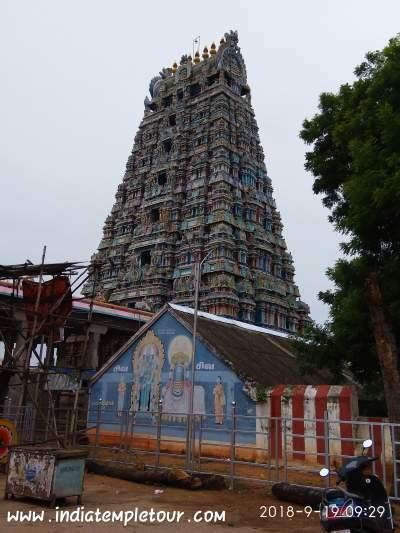 Sri Veerattaswarar temple,tiruvathigai