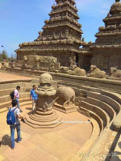 Sea Shore Temple-Mamallapuram