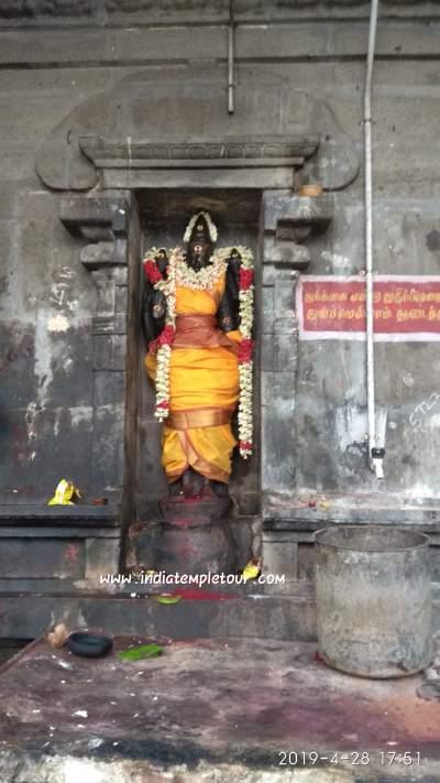 Sri Thiripuranthakeswarar temple- Thiruveerkolam(koovam)