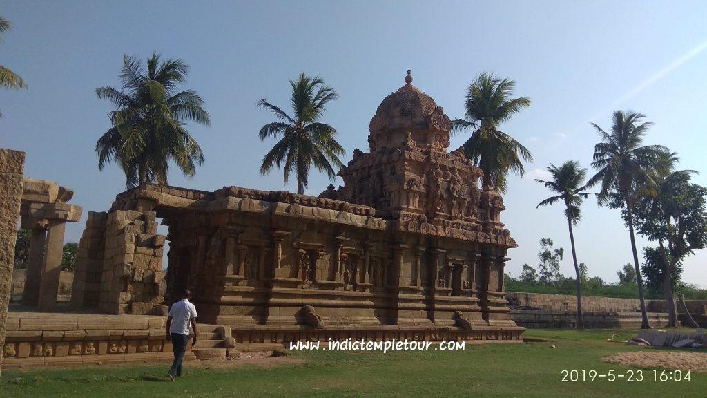 Sri Bragadeeswarar Temple- Gangai Konda Cholapuram