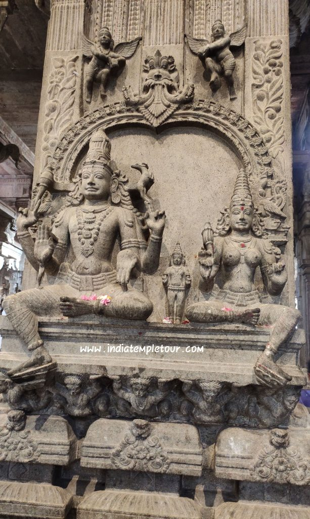 Sri Jambukeswarar Temple- Thiruvanaikaval