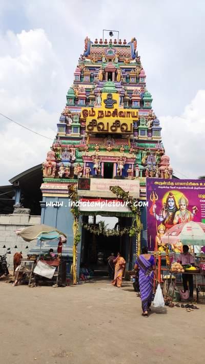 Sri Vedapureeswarar Temple - Tiruverkadu