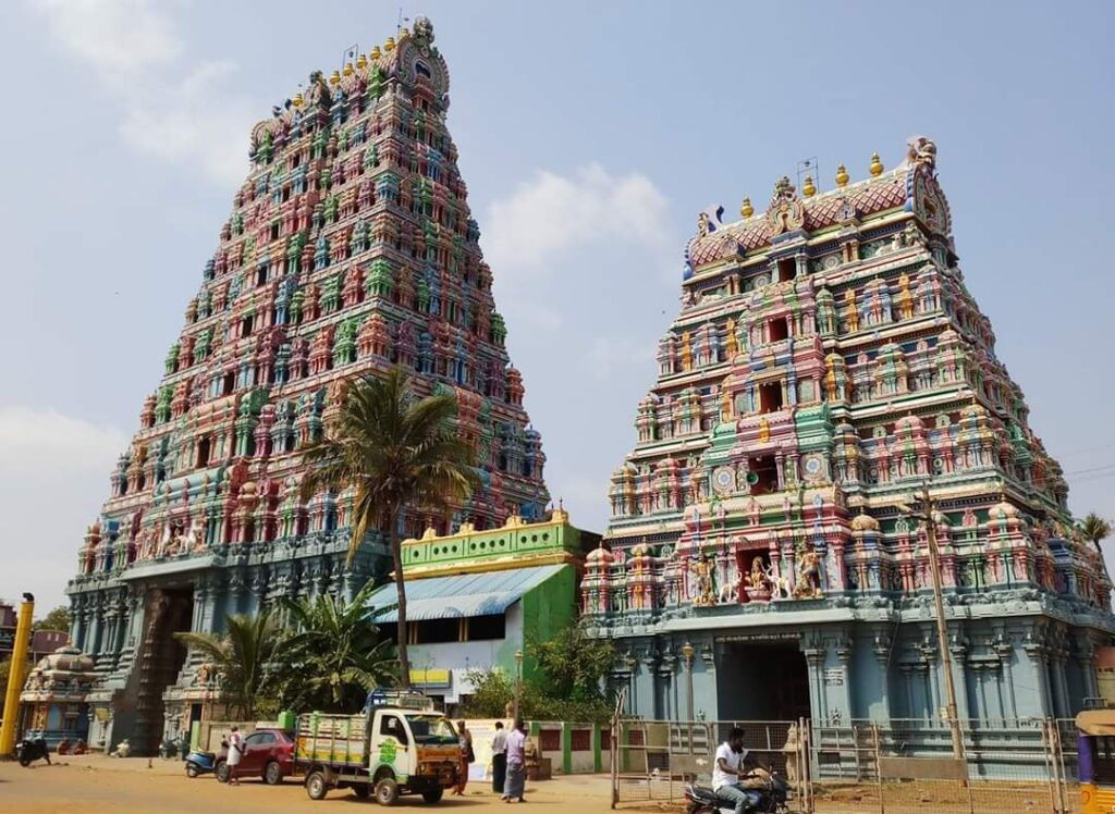 Sri Swarna Kaleeswarar Temple- Kalaiyar koil