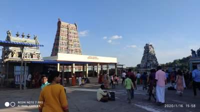 Sri Subramaiya Swamy Temple - Thiruthani