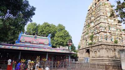 Sri Vakrakali Amman and Chandramouleeswarar Temple - Thiruvakarai
