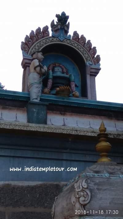 Kandhazeeswarar Temple,kundrathur