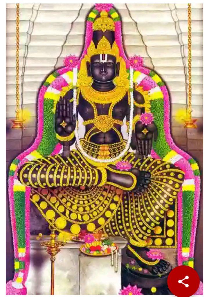 Sri Paandavathootha Perumal- Thirupadagam