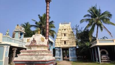 Sri Kari Krishna Perumal Temple - Thiru Ayarapadi