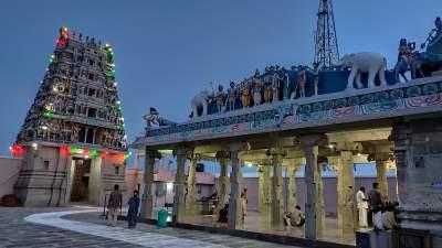 Vetri Velayuthasamy temple - Kathithamalai