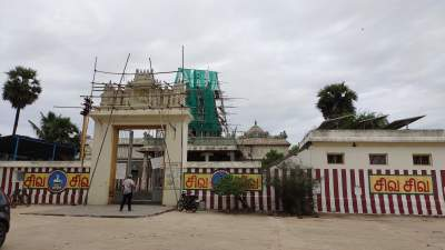 Sri Thalapureeswarar temple - Thirupanangadu